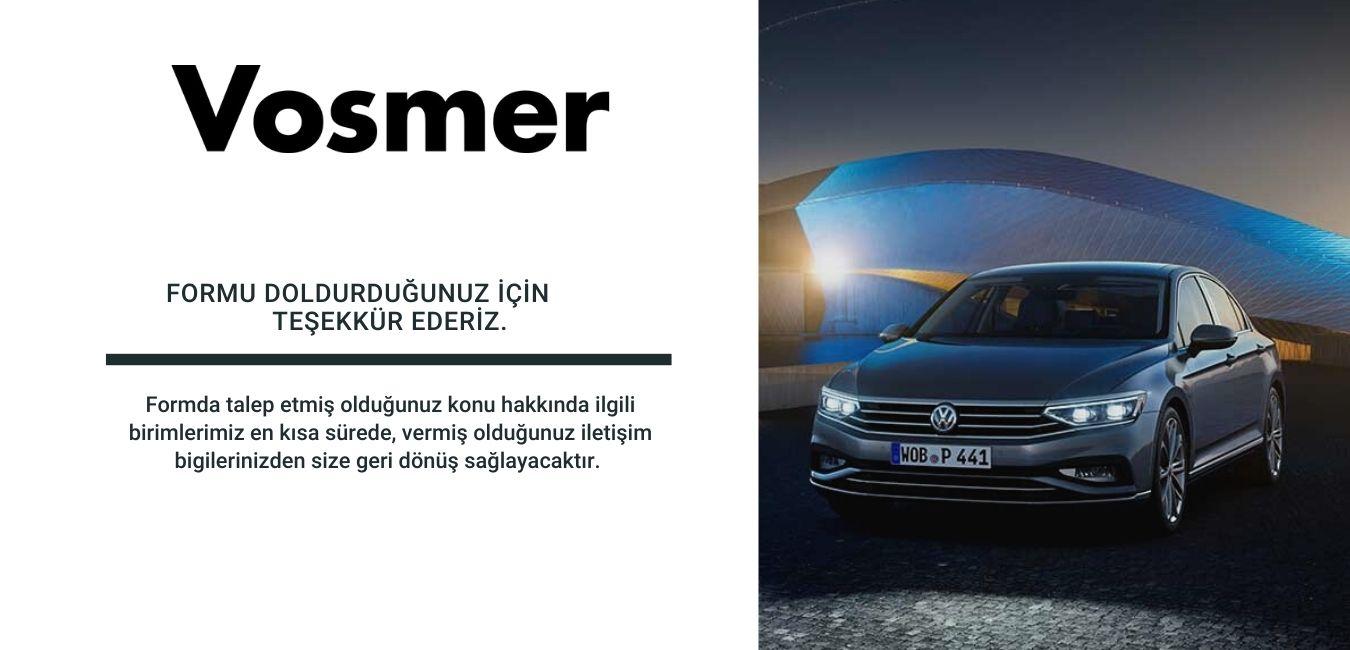 Vosmer Passat Kampanyası